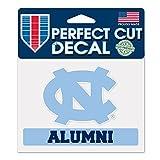WinCraft North Carolina Tar Heels Official NCAA 4 inch x 5 inch Die Cut Car Decal by 360489