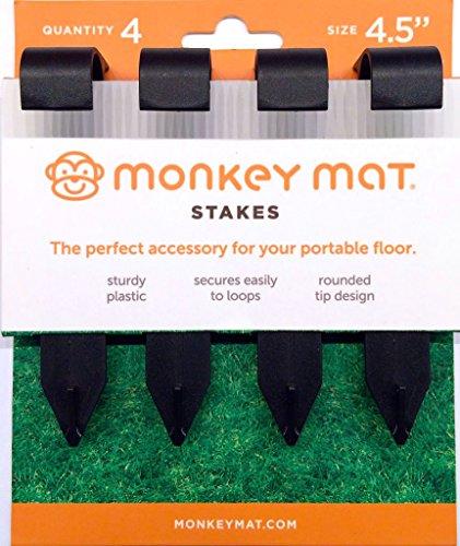 Monkey Mat Stake Set   4 Pk