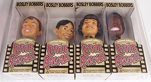 Bosley bobbers Limited Edition The Little Rascals. SPANKY, ALFALFA, BUCKWHEAT and DARLA