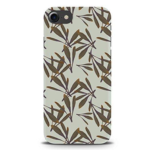 Koveru Back Cover Case for Apple iPhone 7 - Oak Leaf Pattern