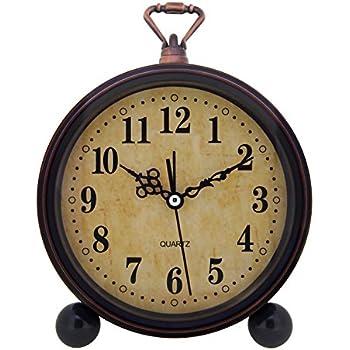 Amazon.com: Timekeeper Desktop Swivel Clock for Desk