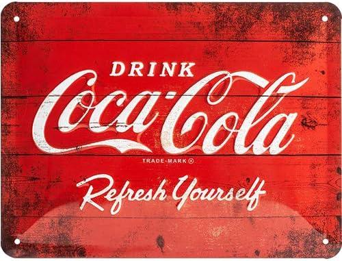 Comprar carteles retro retro barato de Coca Cola  en 2021 en internet económica para regalar