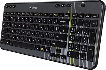 701bd09a0b5 Image Unavailable. Image not available for. Color: Logitech K360 Wireless  Keyboard with Unifying Receiver ...