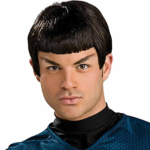 Spock Costumes (Rubie's Costume Co. Men's Star Trek: Beyond Spock Wig, As Shown, One Size)