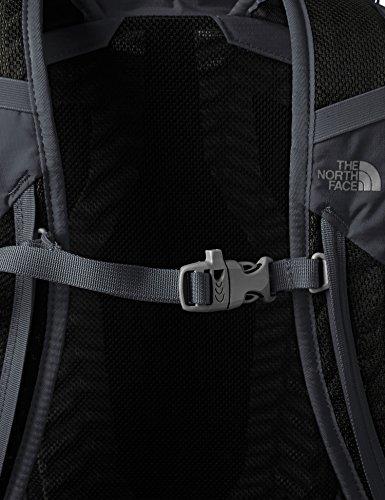 The North Face Litus 22 Rc Rucksack Asphalt Grey / TNF Black
