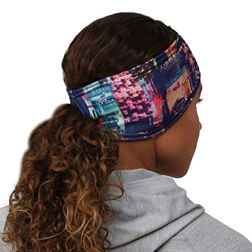 TrailHeads Women's Print Ponytail Headband – 12 Prints  - Made in USA - Cityscape by TrailHeads (Image #6)