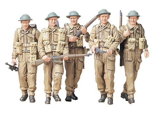 Tamiya 1/35 British Infantry on Patrol for sale  Delivered anywhere in USA