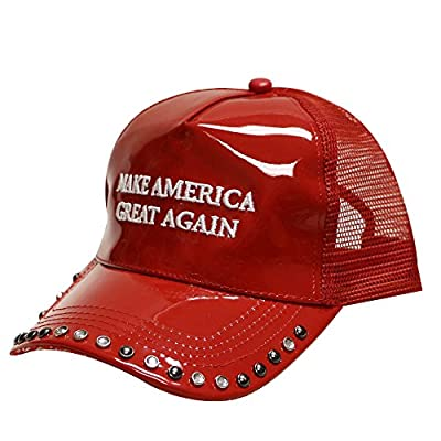 Cr100 Trump Make America Great Again Mesh Trucker Cap Red