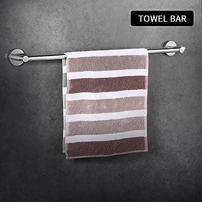 LUCKUP Bath Hardware Towel Bar Accessory Set …