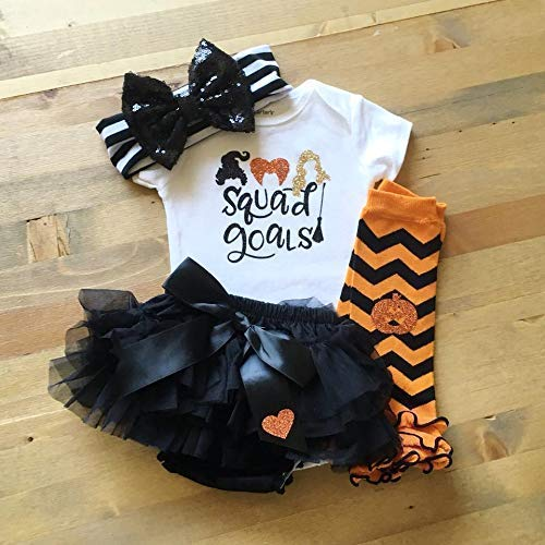 Baby Girl Halloween Outfit, Squad Goals Shirt, Baby