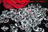 joydiy 200 Clear Wedding Table Scatter Crystals Diamond Decoration (10mm - 4 Carat)