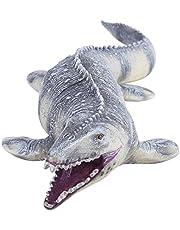 Cabeza de Dinosaurio Suave Marioneta de Mano para Niños Historias Infantiles Juego de Roles Interesante Guante de Juguete Figura de Dinosaurio Baryonyx Alosaurio Tiranosaurio Rex Socialme-EU