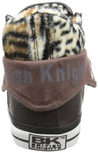 British Knights ROCO - alto de material sintético mujer marrón - Braun (dk. brown/leopard 3)