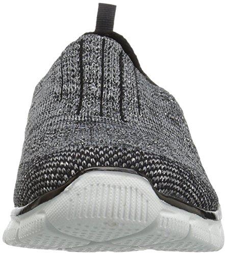 Skechers Empire Baskets Noir Et pour Femme Argent BTarwqBR