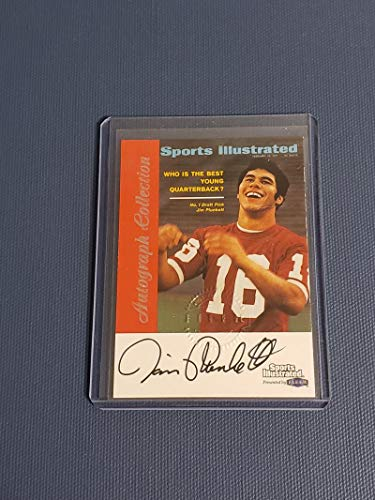 1999 Sports Illustrated Autograph Collection #NNO Jim Plunkett NM Near Mint Auto 1999 Sports Illustrated Autographs