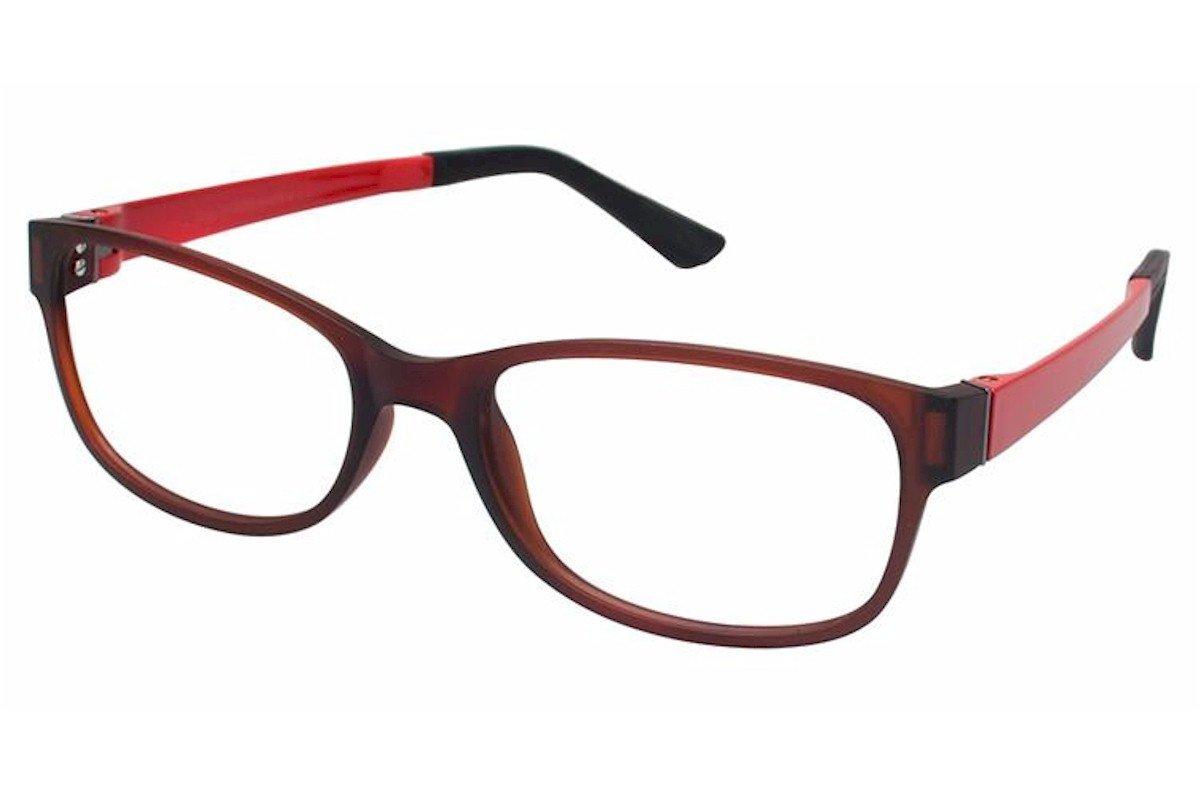 Esprit Womens Eyeglasses ET17445 ET//17445 535 Brown Full Rim Optical Frame 52mm