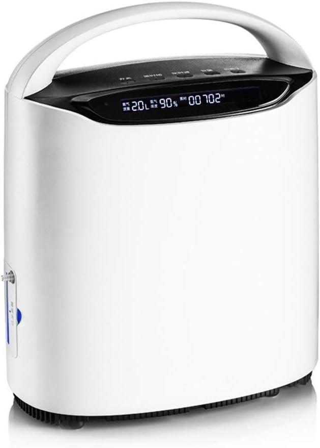 ポータブル酸素発生器 酸素コンセントレータ発電機、リモコンで、家庭や旅行の使用のために1-3L /分で高純度調整可能携帯用酸素マシン