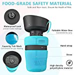 lesotc Pet Water Bottle for Dogs, Dog Water Bottle Foldable, Dog Travel Water Bottle, Dog Water Dispenser, Lightweight & Convenient for Travel BPA Free 18 OZ. 9