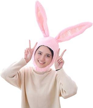 BESTOYARD Sombrero de Oreja de Conejo de Felpa Animal Disfraz de ...