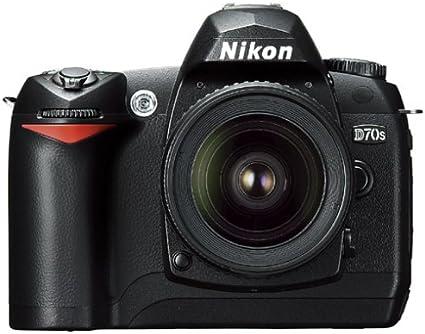 Nikon D70s Slr Digitalkamera Gehäuse In Schwarz Inkl Kamera