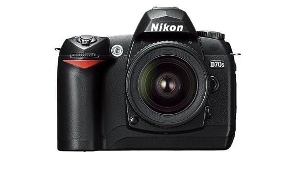 Nikon D70s SLR-cámara Digital (6 mpx) Carcasa Negro 1 GB Tarjeta ...