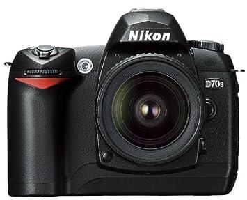 Nikon D70s SLR-cámara digital (6 mpx) carcasa negro 1 GB ...