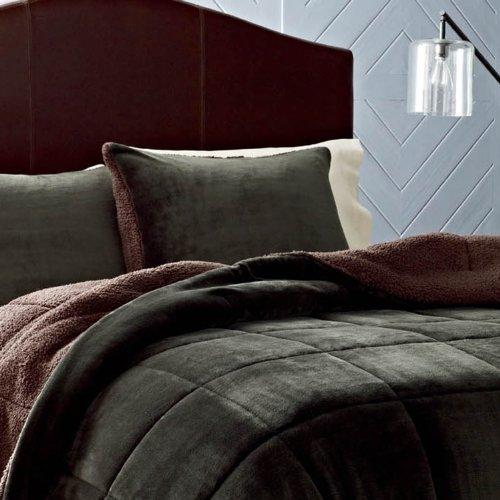 Eddie Bauer Reversible Fleece Comforter Set