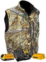 DCHV085D1 Camouflage Fleece Heated Vest - Size L