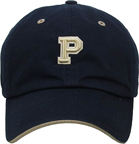 KPA-1463 NAV P Alphabet Letter Dad Hat Polo Cap Adjustable