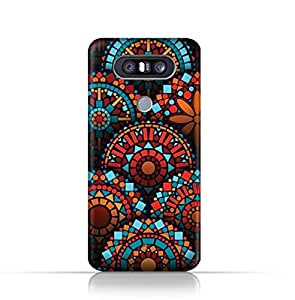LG Q8 TPU Silicone Case With Geometrical Madalas Pattern