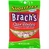 Brach's Sugar Free Star Brites Peppermints, 3.5-Ounce Bags (Pack of 12)