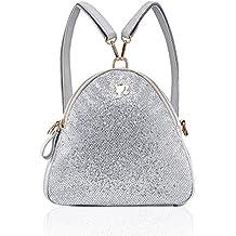 Barbie Women Girl Shining Series Backpack College Retro-Style School Shoulder Bag Handbag