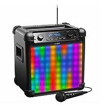 ION Audio IPA88 Tailgater Flash Bluetooth Speaker with Lights