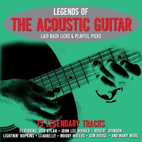 Legends of the Acoustic Guitar - Various