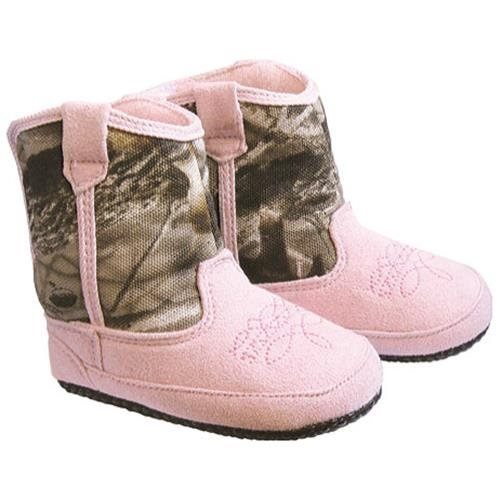 Pro Line Kid's Cowboy Pull On Boots,Pink,2 M Little Kid by Pro Line