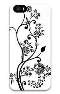 iPhone 5 Cases - High Quality Fashion Black Lines To Spend Summer 3D Lifeproof