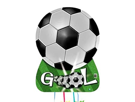 CAPRILO Set de 2 Piñatas Fútbol Pelota Gooool para ...