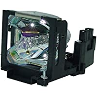 AuraBeam Economy Mitsubishi VLT-XL2LP Projector Replacement Lamp with Housing