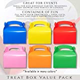 Pack of 24 Paper Treat Boxes - Gable Favor Boxes