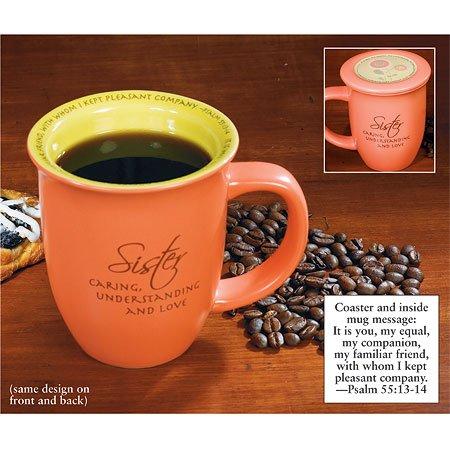 - Sister Mug & Coaster Set