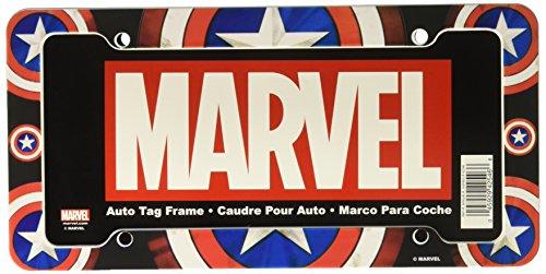 CHROMA 042546 Captain America Shield Plastic Frame -