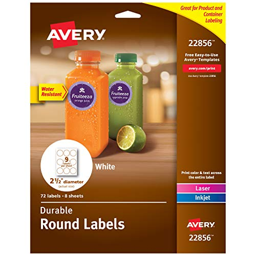 Avery Round Labels Sure