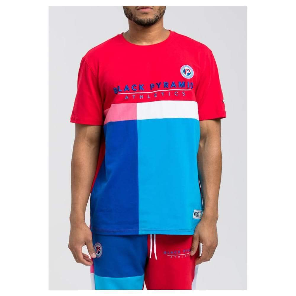 Black Pyramid BP Athletic Color Tee Red