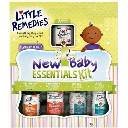 Little Remedies New Baby Essentials (Little Noses Stuffy Nose Kit)