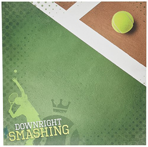 Heritage Scrapbooking - Paper House Productions P-0682E Paper, 12-Inch by 12-Inch, Downright Smashing (25-Pack)