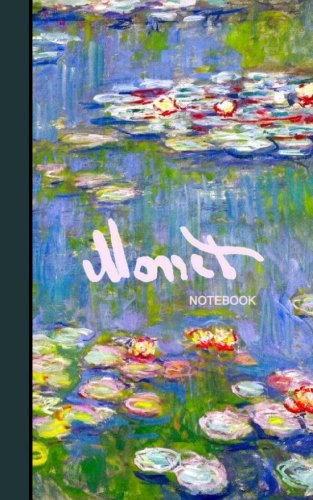 Monet Notebook: Water Lilies and Japanese Bridge (journal/cuaderno/portable/gift) (Signature Series)