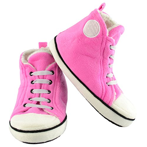 Kids High Top Hausschuhe - Pink
