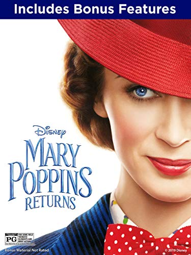 Mary Poppins Returns (With Bonus Content) (Beauty And The Beast Lin Manuel Miranda)