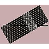 ezpencils - Personalized Black Hexagon Pencils - 12 pkg - ** FREE PERZONALIZATION **