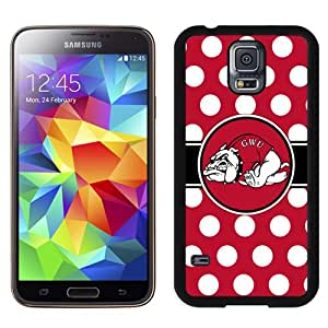 Fashionable And Unique Custom Designed With NCAA Big South Conference GardnerWebb Runnin Bulldogs 5 Protective Cell Phone Hardshell Cover Case For Samsung Galaxy S5 I9600 G900a G900v G900p G900t G900w Phone Case Black